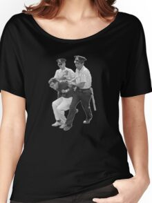 BERNIE ARRESTED!! Women's Relaxed Fit T-Shirt