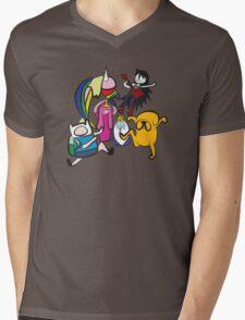 NINJIA CREW Mens V-Neck T-Shirt