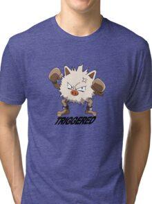 Triggered Primeape Tri-blend T-Shirt