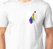 nick martin lgbt+ pride flag  Unisex T-Shirt