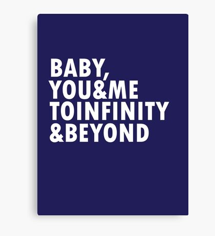 To Infinity & Beyond Canvas Print