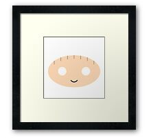 Stewie Griffin - Circley! Framed Print