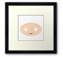Stewie Griffin - Circley! Framed Print