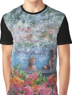 Cooling Off Graphic T-Shirt