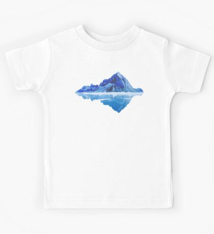 Along the frosted mountains Kids Tee
