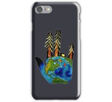 Poorly Earth. iPhone Case/Skin