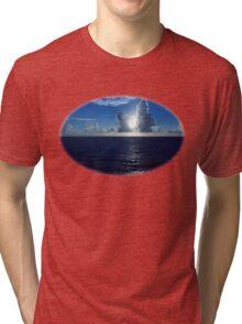 Serious Caribbean  Tri-blend T-Shirt