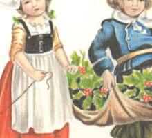 Victorian Christmas 3 Sticker