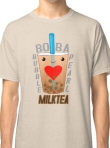 Boba Bubble Pearl Milktea LOVE Classic T-Shirt