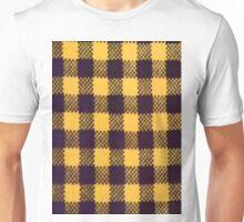 YELLOW BUFFALO PLAID SMARTPHONE CASE (Phoney) Unisex T-Shirt