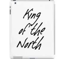 King of the North iPad Case/Skin