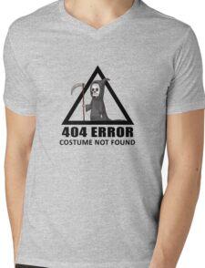 404 Error - COSTUME NOT FOUND Mens V-Neck T-Shirt