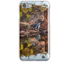 Refelctions Of Ethel Falls iPhone Case/Skin