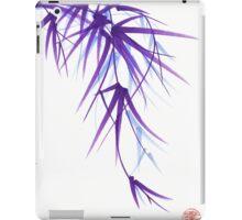 Summer - Lavender bamboo sumie brush painting iPad Case/Skin