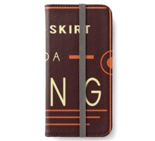 Short Skirt / Long Jacket iPhone Wallet/Case/Skin