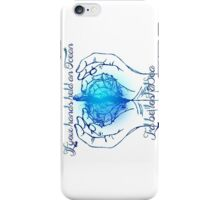 If your hands held an Ocean iPhone Case/Skin