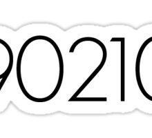 90210 Sticker Sticker