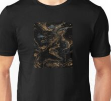 Blak and Gold Unisex T-Shirt