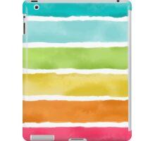 Watercolor Stripes iPad Case/Skin