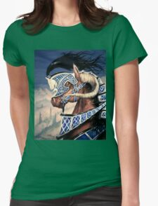 Yuellas the Bulvaen Horse Womens Fitted T-Shirt