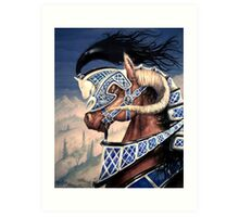 Yuellas the Bulvaen Horse Art Print