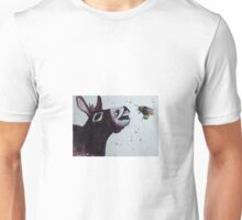 Donkey and a Bumble bee Unisex T-Shirt