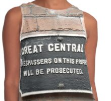 Trespassers will be Prosecuted Contrast Tank