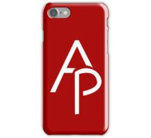 Assass1n Productions (no shading)  iPhone Case/Skin