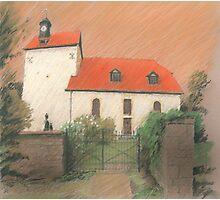 Dorfkirche von Bechstedtstraß Photographic Print