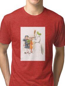 Victorian Christmas 15 Tri-blend T-Shirt
