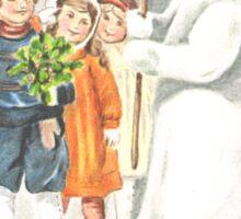 Victorian Christmas 15 Sticker