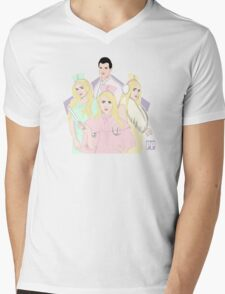 Pastel Papi  Mens V-Neck T-Shirt
