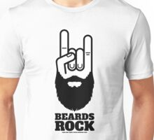 Beards Rock! Unisex T-Shirt