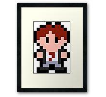 Pixel Tim Framed Print