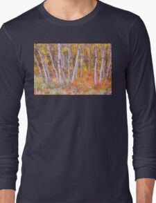 Psychedelic Forest Long Sleeve T-Shirt