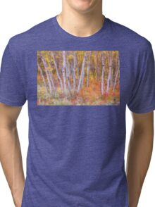 Psychedelic Forest Tri-blend T-Shirt