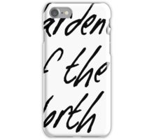 Wardeness of the North iPhone Case/Skin