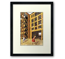 vom Streben Framed Print