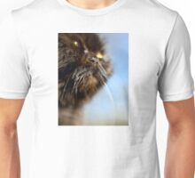 Sun Tanning Kitty Unisex T-Shirt