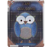 OWL OF FAME iPad Case/Skin