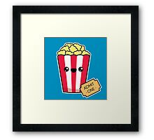 Movie Night Framed Print