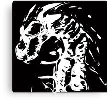 Skeleton Dragon Canvas Print