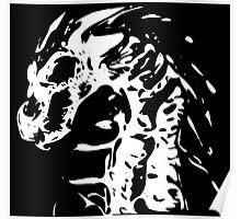 Skeleton Dragon Poster