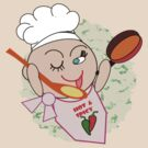 Chef at work  (5894 Views) by aldona
