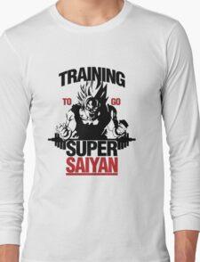 Goku Training v2 Long Sleeve T-Shirt