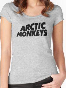 ARTIC MONKEYS Women's Fitted Scoop T-Shirt