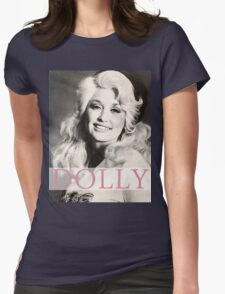 dolly parton Womens Fitted T-Shirt