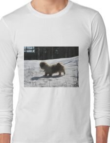 shih tzu in the wild Long Sleeve T-Shirt