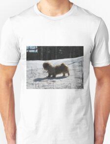 shih tzu in the wild Unisex T-Shirt