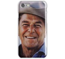 America Reagan Country - Vintage 1980s Campaign Poster iPhone Case/Skin